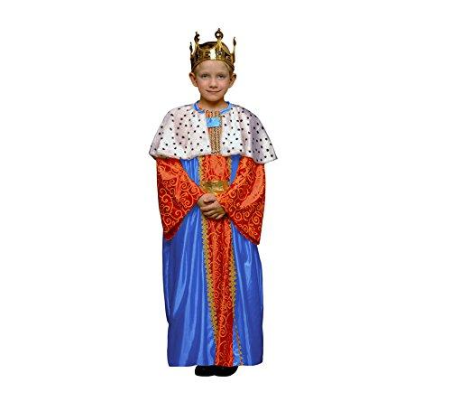 Imagen de disfraz de rey mago azul para niños en varias tallas