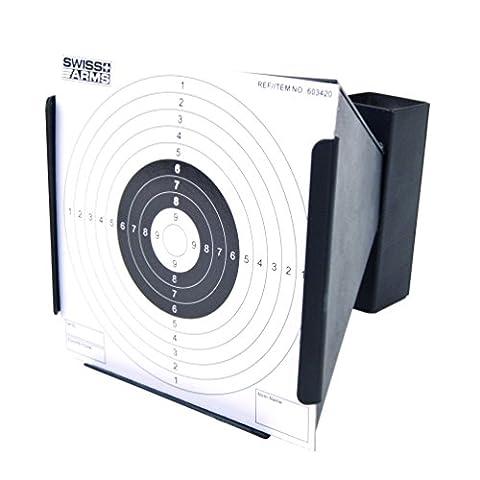 Cible Pistolet A Bille - SWISS ARMS Cible métal conique pour Airsoft