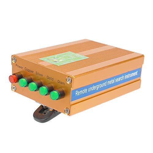 Detector de metales, Baugger- Detector de diamantes de cobre, plata, oro, subterráneo remoto con batería...