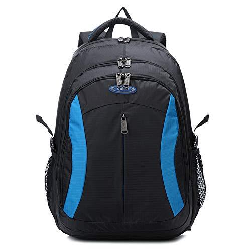 KD Große Kapazität Rucksack Laptop-Tasche Reise Rucksack Huadu Handtasche Wasserdicht Anti-Scratch-Mode,Blue