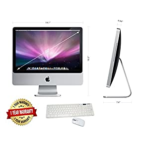APPLE-IMAC-A1224-inCORE-2-DUOin-20-24GHZ-4GB-RAM-160GB-HDD-20in-SCREEN-OS-X-EL-CAPITAN-Renewed