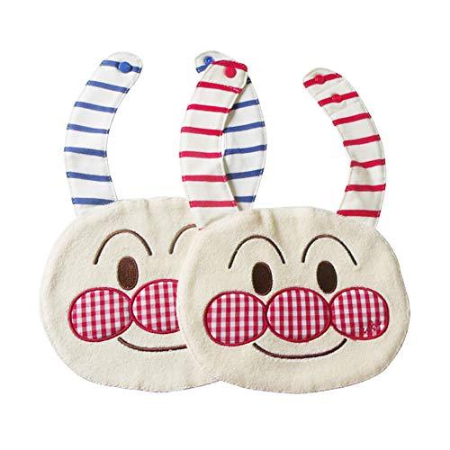 Bavaglino bavaglino in cotone con saliva salopette con pettorina in cotone per bambini. 1 pezzo