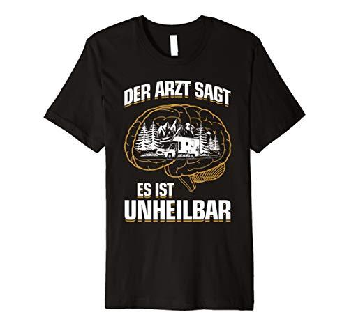 Womo Reisemobil Fun Wohnmobil T-Shirt: Es Ist Unheilbar