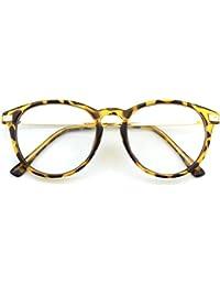 531d062f59 CGID CN12 Retro Anteojos Lente Claro Gafas Para Mujer y Hombre