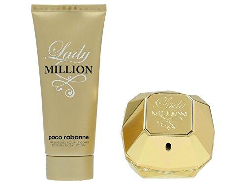 llion Set femme/woman, Eau de Parfum Vaporisateur/Spray 80 ml, Bodylotion 100 ml, 1er Pack (1 x 180 ml) ()