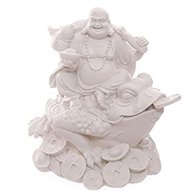 White Wealth Toad and Chinese Buddha