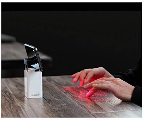 Preisvergleich Produktbild Neue Hightech-Bluetooth-Laserprojektionsta... Maus Handy Halterung mobile Power virtuelle Tastatur,  spüren Sie den Atem der Zukunftstechnologie