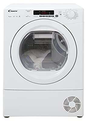 Candy GVSH9A2DE Freestanding A++ Rated Condenser Tumble Dryer - White from AO