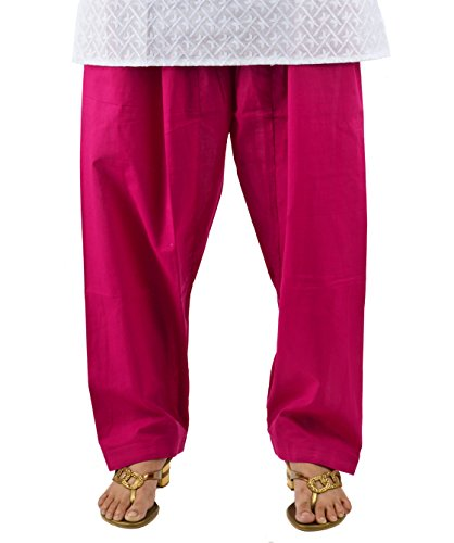 NEHA FASHION [Neha Fashion] Women's Solid Salwar - Pink
