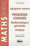 14 problèmes corrigés - Mathématiques générales - Analyse