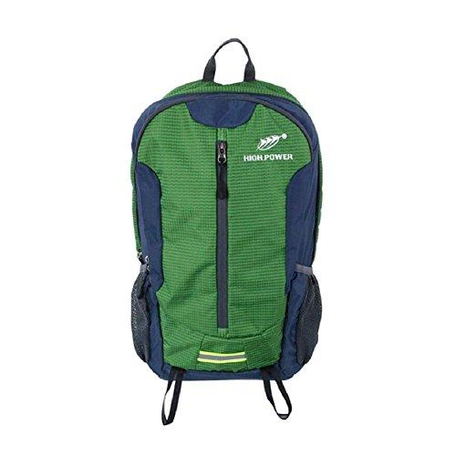 LF&F Backpack Hochwertiges Nylon 25-30L KapazitäT Stilvolle Casual Student Tasche Wasserdicht Und Langlebig Outdoor Sport Reise Rucksack Bergsteigen Tasche Mehrzweck Daypacks B