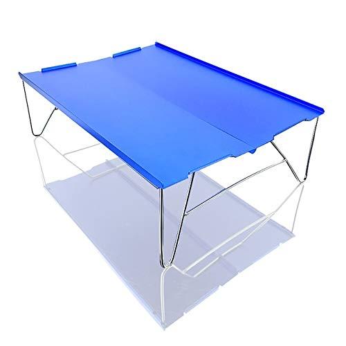 Wulihong-tavolo campeggio mini tavolo da picnic ultraleggero pieghevole in alluminio tavolo da tè pieghevole da campeggio trekking escursionismo tavolo da barbecue portatile t 03