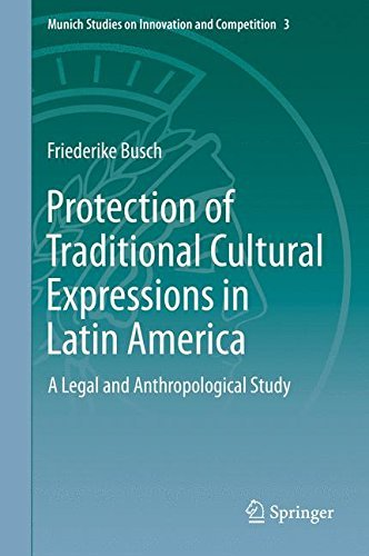 Portada del libro Protection of Traditional Cultural Expressions in Latin America: A Legal and Anthropological Study (Munich Studies on Innovation and Competition) by Anna Friederike Busch (2015-05-21)