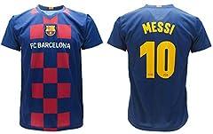 Idea Regalo - Maglia Messi 2020 Barcelona Ufficiale Home 2019 2020 in Blister Divisa Barcellona 10 Bambino Ragazzo Adulto (10 Anni)