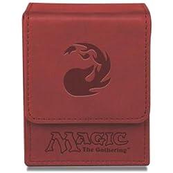 Ultra Pro Deck box mana rojo premium buena 100 cartas