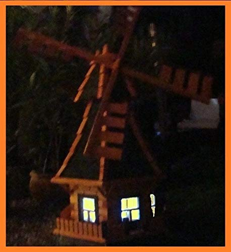 XL Windmühle, hellbraun braun - 4
