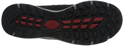 Dickies Mens Fury Low Safety Athletic red