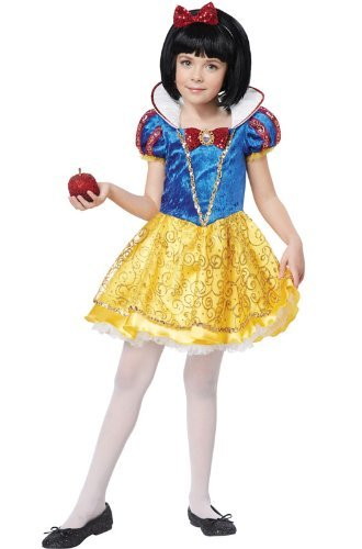 Snow White Deluxe Costume Dress Child Small