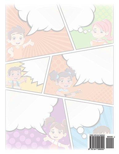 Blank Doodle Comic Book: Volume 1 (Blank Doodle Comics 8.5 x 11)