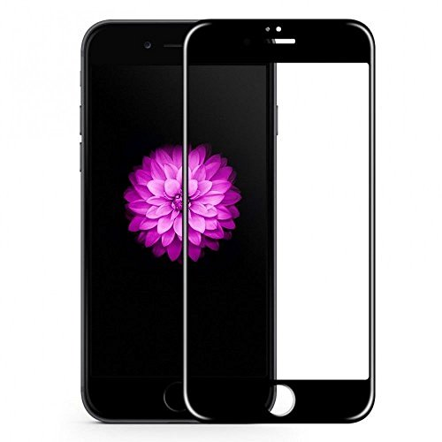 Market Affairs Tempered Glass 5D Curved Edge 9H Hardness Tempered Glass Protector for Apple iPhone 7 (Black)