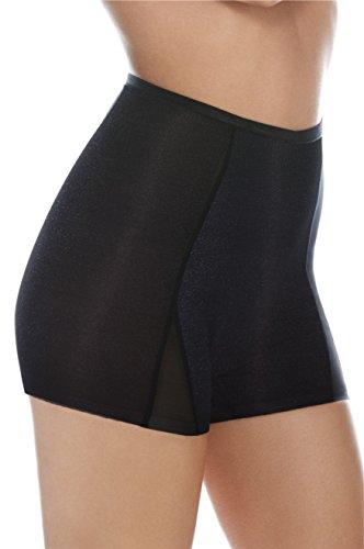 4735a621068 BODY WRAP – Shorty Boxer Moulant Gainant Légèrement Amincissant – Maille  Fine Extensible – Taille Haute