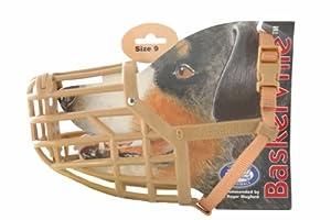 Baskerville Dog Muzzle - Suitable for German Shepherds (Size 9)