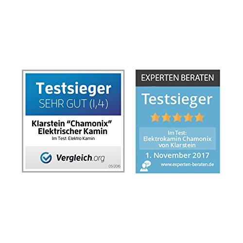 Klarstein Chamonix Elektrokamin / 2000 Watt - 6