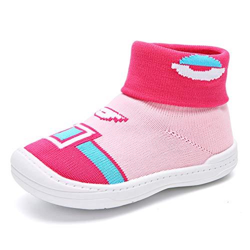 f924cdf0155260 Toddler Baby Child Primo camminatore Scarpe Soft Mesh Socks Suola in Gomma  1-5 YS