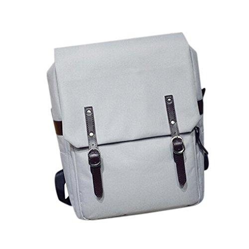 BZLine® Unisex Casual Wandern Notebook Tasche Rucksack, 30cm*13cm*40cm Grau