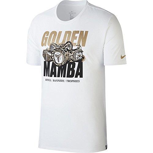 Nike M NK Dry tee DF Kobe - Camiseta, Hombre, Blanco(White)
