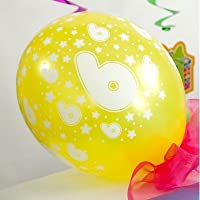 Partydeco - Balloon 6th Birthday Mixed Colours
