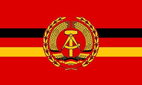 Unbekannt Flagge Dienstflagge für Kampfschiffe und -boote der Volksmarine der Deutschen Demokratischen Republik | Querformat Fahne | 0.06m² | 20x30cm für Diplomat-Flags Autofahnen