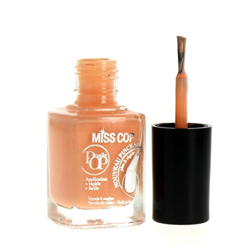 Miss Cop Vernis à Ongles Pop Nails Ete - 02 Berlingot Orange