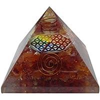 carneliyan Pyramide mit sumbel of Life Reiki/Reiki Crytsal Pyramiden für Heilung und Home Dekoration preisvergleich bei billige-tabletten.eu