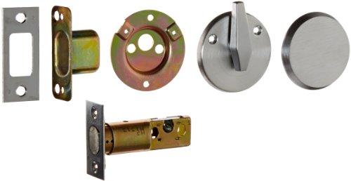 Falcon Lock D261M 626 D200 Series Grade 2 Riegelschloss mit Riegel, Schlüssellos, satiniertes Chrom-Finish