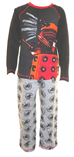 Doctor Who Jungen Pyjamas Alter 5-6 Jahre (Dr Who Schlafanzüge Kinder)
