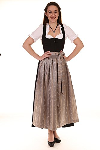 Turi Landhausmode Damen Dirndl schwarz REGINA SCHWARZ