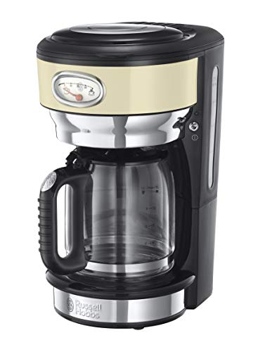 Russell Hobbs Retro - Cafetera Goteo Jarra Cafetera