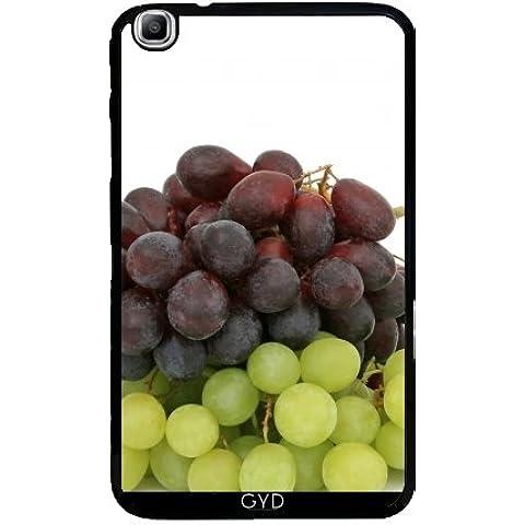 Custodia per Samsung Galaxy Tab3 8.0 SM-T310 - Uva Frutta Verde Affamato by WonderfulDreamPicture