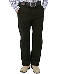 Crocks Club Dark Green Color Cotton Trouser For Men