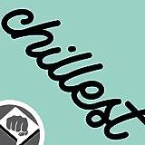 CHILLEST illest - Sticker Bomb Aufkleber Decal - schwarz oder weiss - Sticker Bombing NEU - DUB DUBWAY (innenklebend, weiß)
