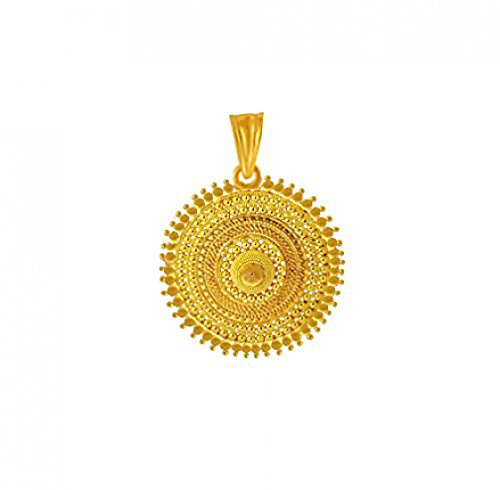 BFC- Traditional and Ethnic One Gram Gold Plated Pendant for Woman and Girls