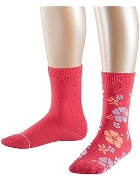 ESPRIT Mädchen Socken Bloom, Blickdicht, 2er Pack