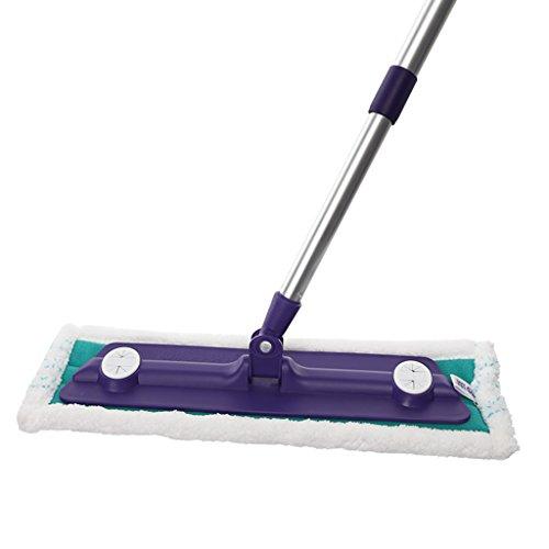 Household piano Mop umido e secco Wood Flooring Ultra - Ammenda fibra di traino rotante polvere di trascinare ( colore : Il blu scuro. )