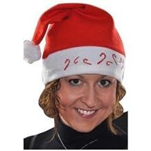 Gorro de navidad con cambio de Iluminación y Bastones de caramelo