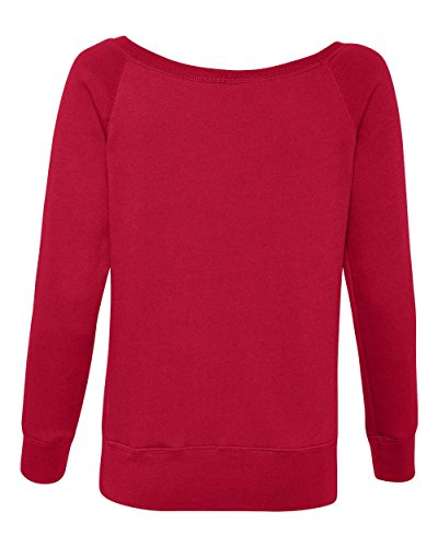 Bella Canvas - Sweat-shirt - Solid - Manches Longues - Opaque - Femme Sarcelle