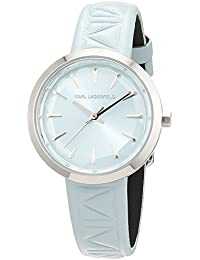 Karl Lagerfeld para mujer-reloj analógico de cuarzo de cuero KL1611