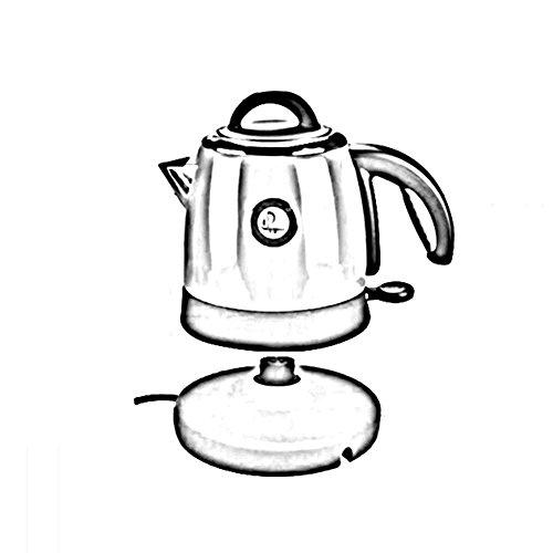 XQY Hohe Qualität Wasserkocher Intelligente Steuerung Mini Wasserkocher 0.8L Kapazität Kleiner Wasserkocher 304 Edelstahl Tourismus Portable 1000 Watt Einfach zu Bewegen, Schnell Kochen Haushalts was