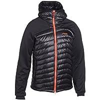 Phenix Hombre Snow Force Middle Jacket Chaqueta, Invierno, Hombre, Color Negro, tamaño