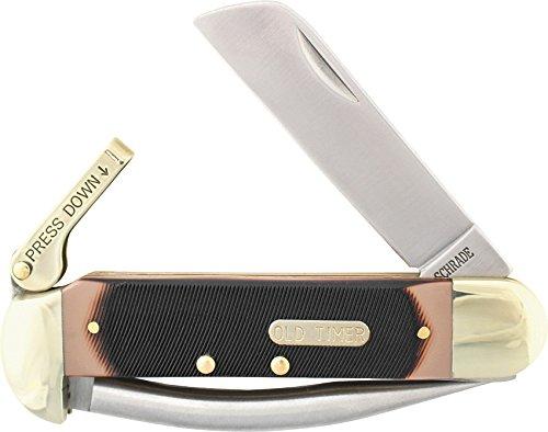 Schrade sch735ot, Couteau de Poche – Mixte Adulte, Marron, Taille Unique